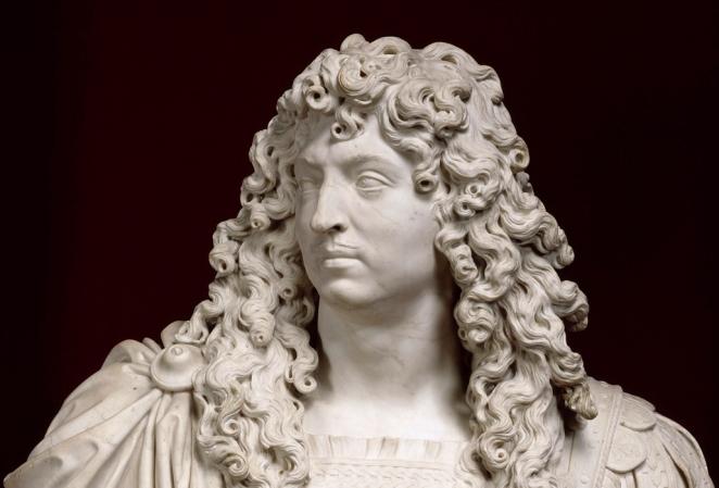 Louis XIV, roi de France et de Navarre (1638-1715), reprÈsentÈ en armure en 1666